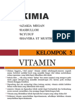 Biokimia Vitamin Wxm