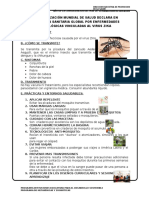 Afiche Segun Oms Zika