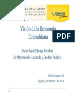 Visión Economica Colombia