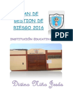 Plan de Gestion de Riesgp - Congingencia - Ie 129-2016 Ok