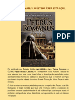 408 Pedro Romano OUltimoPapaEstAAqui