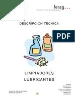 Limpiadores, Lubricantes EQUIPOS FERAG-PRENSA