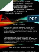 Revisión Documental Sobre Las Parasitosis Trichiuriasis y Ascariasis