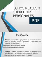 Derechos Reales y Personales