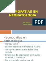 Neumopatias en RN