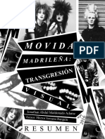 La movida madrileña transgresión visual