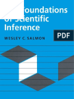 Wesley Salmon - The Foundations of Scientific Inference (1967)