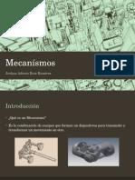 Presentación Mecanísmos para proyecto Final clase de Melisa Vargas.