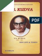 V S Kudva His Life and Times