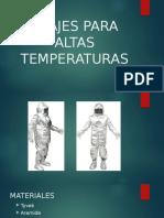 Trajes Para Altas Temperaturas