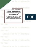 Proyecto de Intervención Educativa