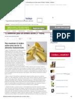 12 Alimentos Para Un Cerebro Activo (1ª Parte) - Nutritelia - Nutritelia