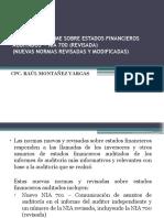 El Nuevo Informe Sobre Estados Financieros Auditados Raúl Montañez V.