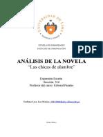 Analisis Literario Las Chicas de Alambre