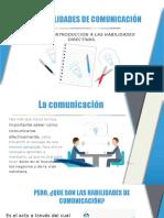 1.3.4 Habilidades de Comunicacion