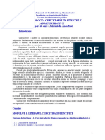 Suport de Curs - Metodologia Cercetarii[1]