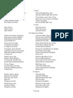 Durufle Requiem Text Translation