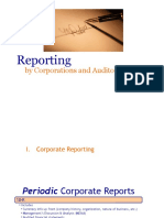 2. Reporting by Corporations and Auditors