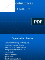 Operating Systems (Session 1)