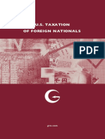 Us Taxation of Foreign Nationals