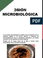 Corrosión Microbiológica
