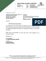 Investors Presentation [Company Update]