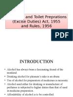 Medicinal and Toilet Preparation Act 1955