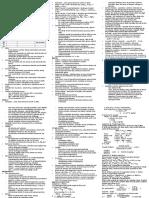 Prac Notes Module 1-3