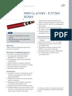 Sumline RHVMV Cu 6-10kV - 8.7-15kV- 12-20kV -18-30kV