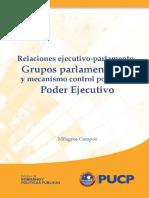 Relaciones Ejecutivo Parlamento M. Campos