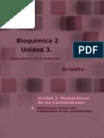 Alteraciones Clinicas Del Metabolismo de Los Carbohidratos