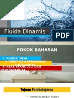 FLUIDA DINAMIS PPT