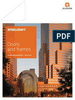 Door and Frame - Technical Manual