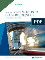 Amazon's Move Into Delivery Logistics