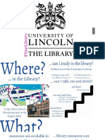 University of Lincoln Library Induction 2016