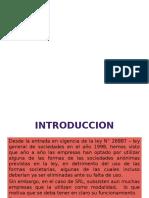 SOCIEDAD COMERCIAL  DE RESPONSABILIDAD LIMITADA ( SRL)