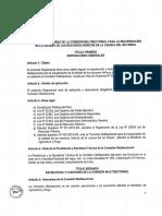 Reglamento de La Comisión Multisectorial para la recuperación de la calidad de los recursos hídricos de la cuenca del río Rímac