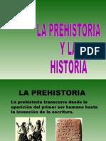 La Prehistoira y La Historia