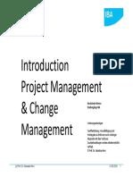 Introduction Projectmanagement
