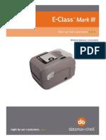 DataMax Mark III Manual