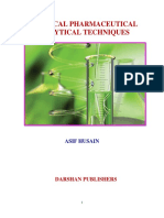 BOOK 2- Practical Pharmaceutical Analytical Techniques