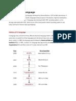 Overview of C LanguageSTN