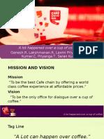 Strategic Study of Cafe Coffee Day