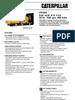3412 - 810kVA Prime
