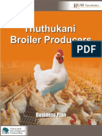 Business Plan Broiler Production Bulawayo