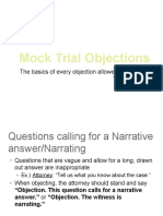 Mock Trial Objections.pptx