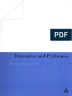 1Discourse and Politeness