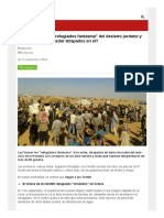 ¿Quiénes Son Los _refugiados Fantasma_ Del Desierto Jordano y Cómo Llegaron a Quedar Atrapados en Él