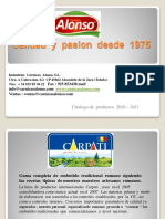 Catalogo Carpati PDF.