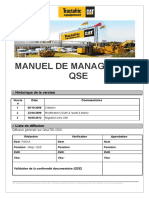 Manuel de Management Qse 2013